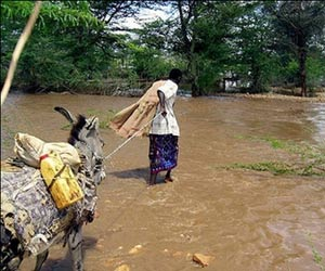 Flooding in 2005 killed more than 150 in Eastern Ethiopia. (Credit China Economic Net  en.ce.cn)